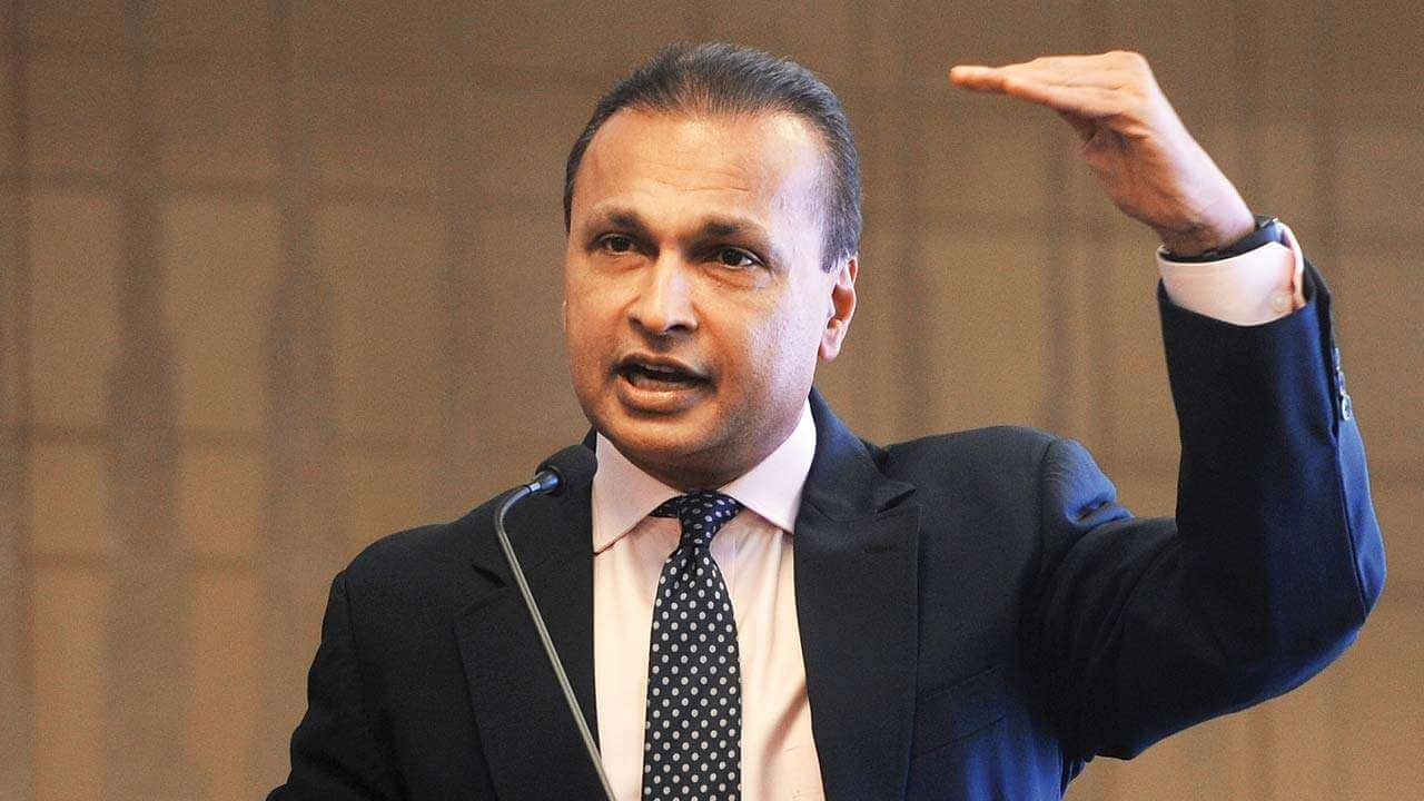 Soon after Supreme Court holds Anil Ambani and Two Directors Guilty in Ericsson Case, Reliance Group Shares Fall by 1 to 9 Percent