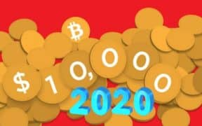 BTC Hits 10,000 USD in 2020
